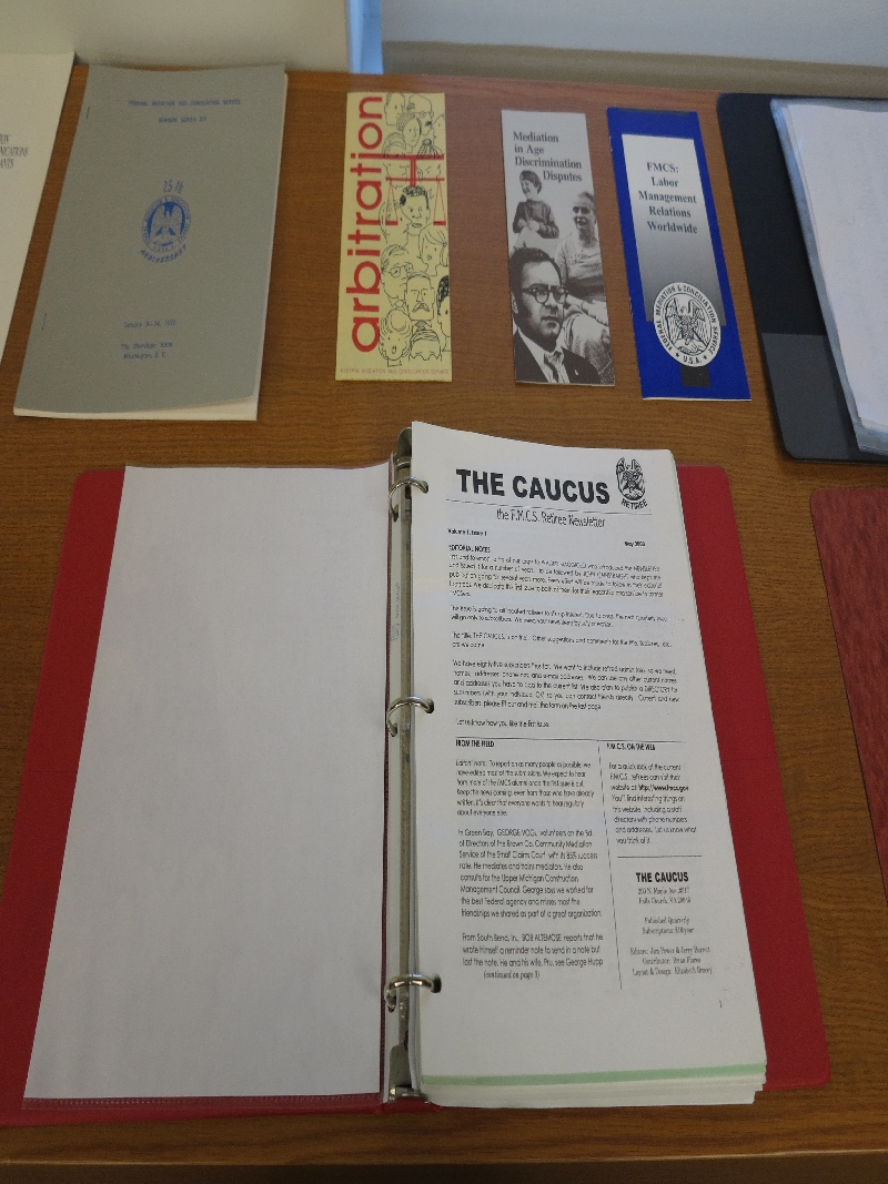 Caucus, Brochures, Annual Reports Friends Collection