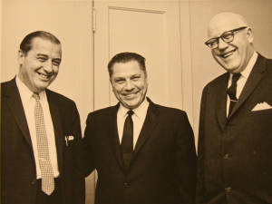 Walter Maggiolo, C.K. Call, and Jimmy Hoffa