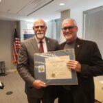 Commissioner Brown Retirement Certificate
